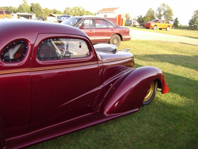 1937 Chevrolet Coupe hot rod rods drag race racing custom wallpaper