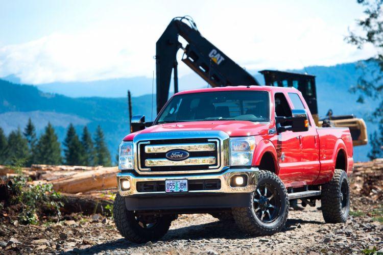 2016 FORD F-350 offroad 4x4 custom truck wallpaper