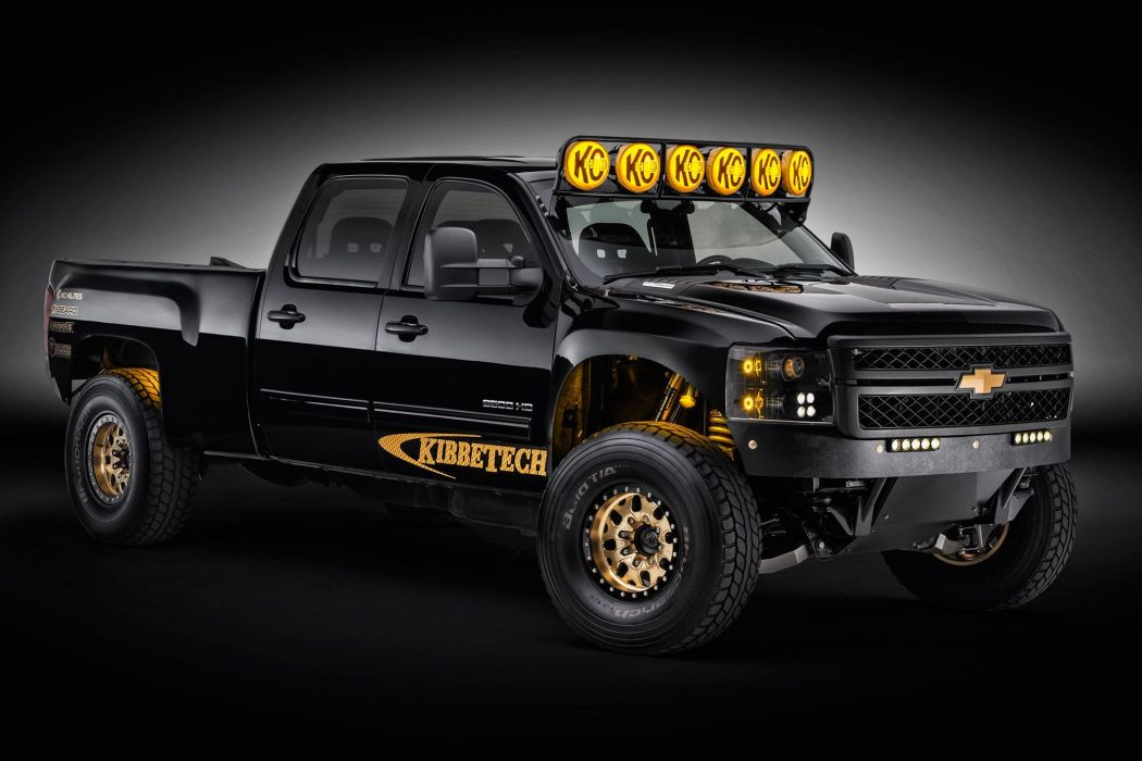 2011 Chevrolet Silverado 2500HD offroad 4x4 custom truck pickup wallpaper
