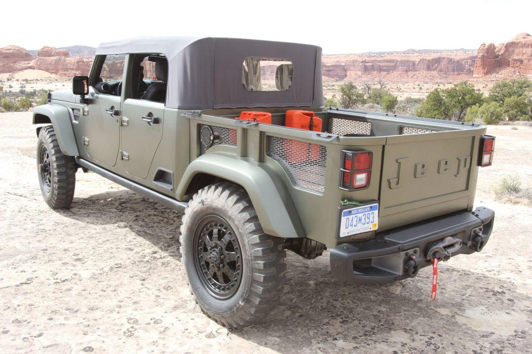 2016 JEEP MOPAR offroad 4x4 custom truck concept Moab Ejs wallpaper