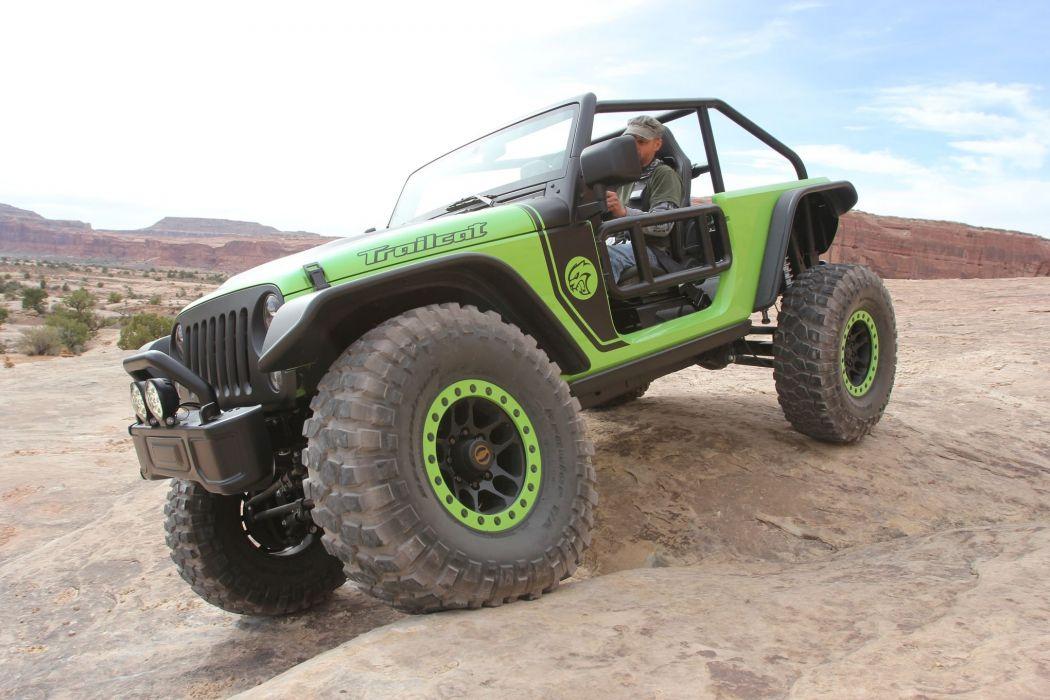 2016 JEEP MOPAR offroad 4x4 custom truck concept Moab Ejs trailcat wallpaper
