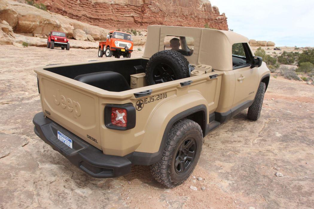 2016 JEEP MOPAR offroad 4x4 custom truck concept pickup comanche wallpaper