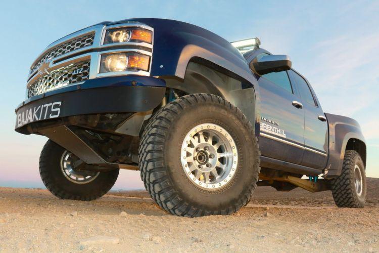 2015 CHEVY SILVERADO offroad 4x4 custom truck pickup wallpaper