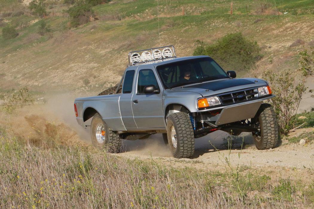 1997 FORD RANGER offroad 4x4 custom truck wallpaper