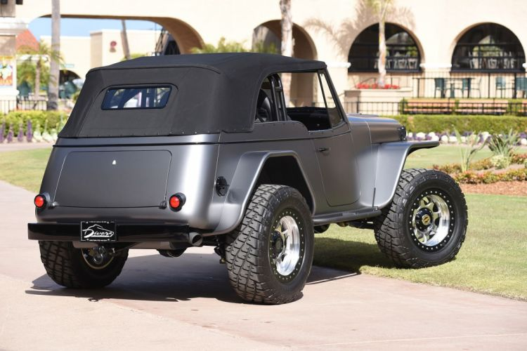 1950 WILLYS JEEPSTER offroad 4x4 custom truck jeep suv hot rod rods wallpaper