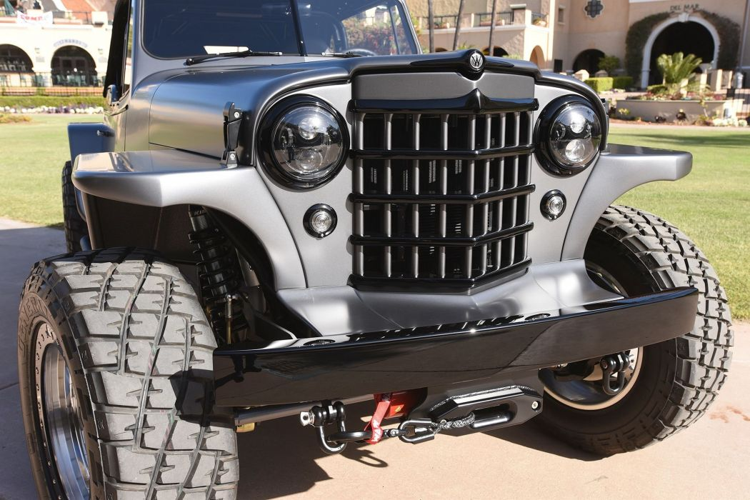 1950 Willys Jeepster Offroad 4x4 Custom Truck Jeep Suv Hot Rod Rods Wallpaper 2040x1360 989006 Wallpaperup