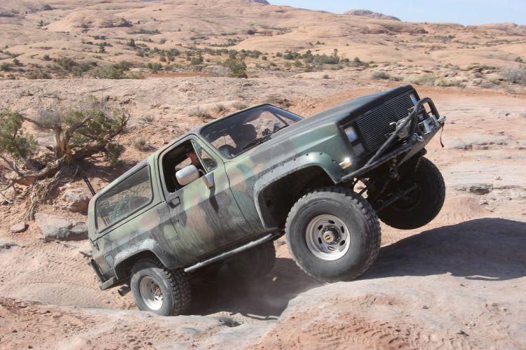 1984 CHEBROLET K5 BLAZER offroad 4x4 custom truck suv k-5 military wallpaper