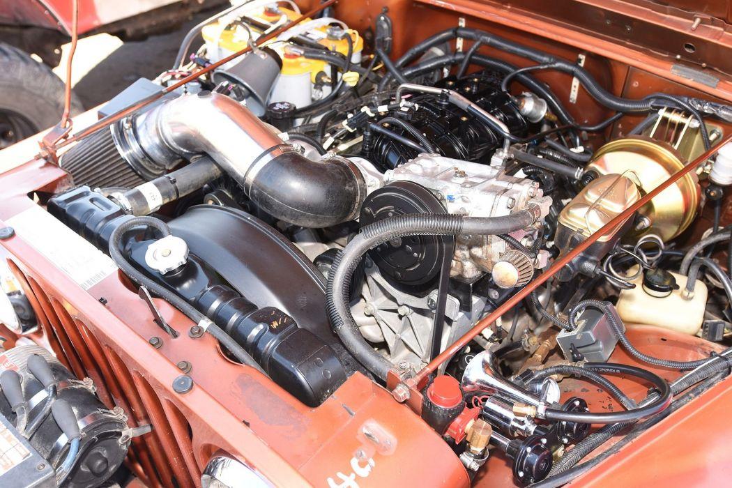 1985 JEEP CJ-7 offroad 4x4 custom truck suv wallpaper
