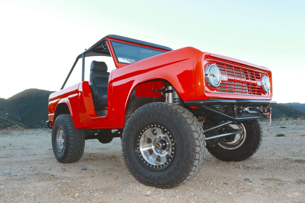 1966 FORD BRONCO offroad 4x4 custom truck suv classic wallpaper