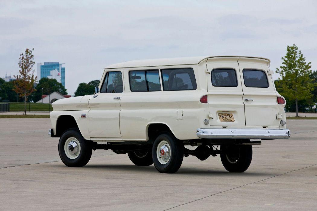 1960-66 CHEVROLET SUBURBAN CARRYALL offroad 4x4 custom ...
