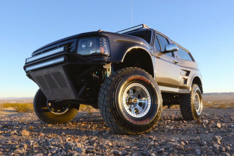 1992 FORD BRONCO offroad 4x4 custom truck suv wallpaper