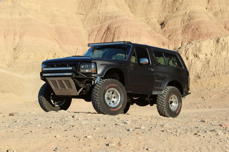 1992 FORD BRONCO offroad 4x4 custom truck suv wallpaper