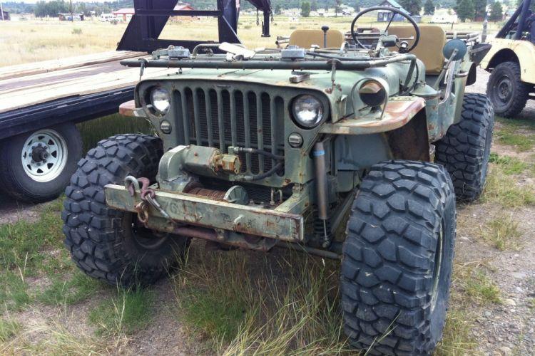 Willys Jeep M38 offroad 4x4 custom truck military suv retro wallpaper