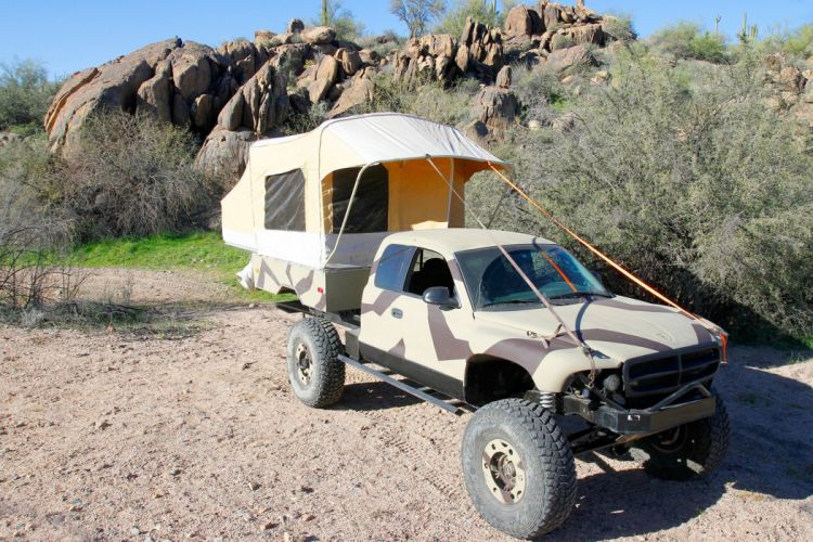 2001 DODGE DAKOTA offroad 4x4 custom truck pickup wallpaper