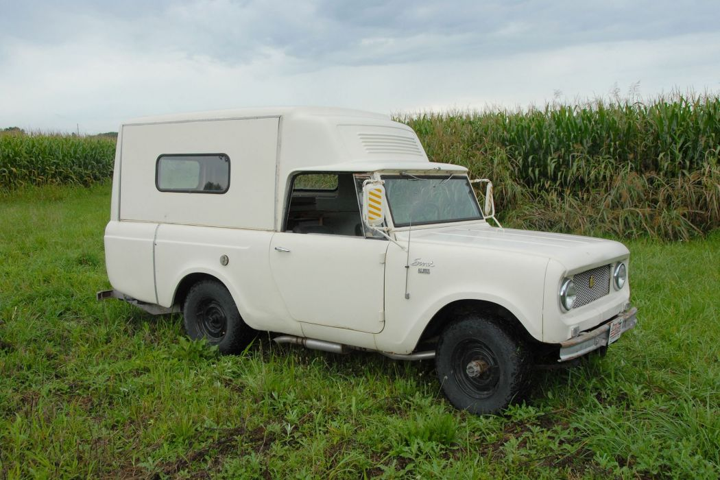 1963 SCOUT CAMPER offroad 4x4 custom truck motorhome suv international wallpaper