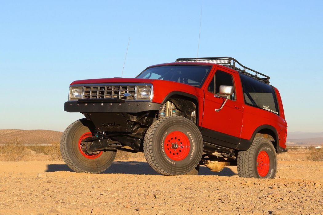 1986 FORD BRONCO offroad 4x4 custom truck suv wallpaper