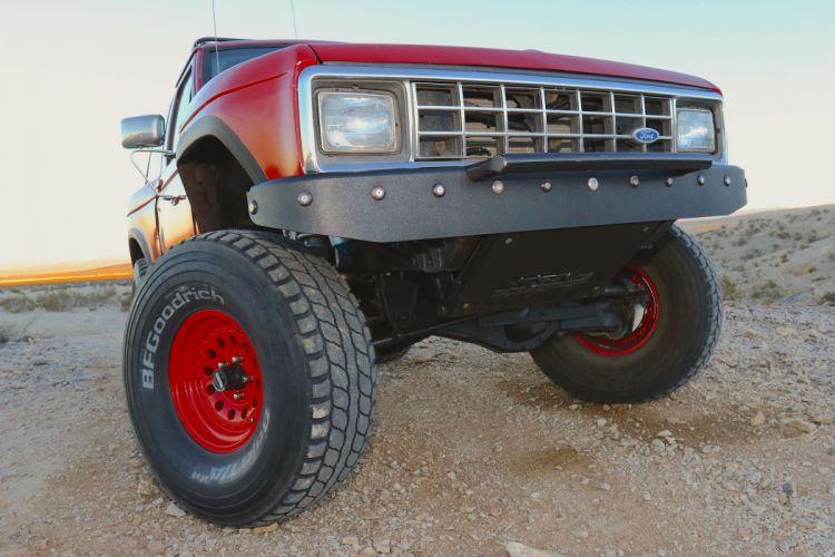 1986 FORD BRONCO offroad 4x4 custom truck suv wallpaper