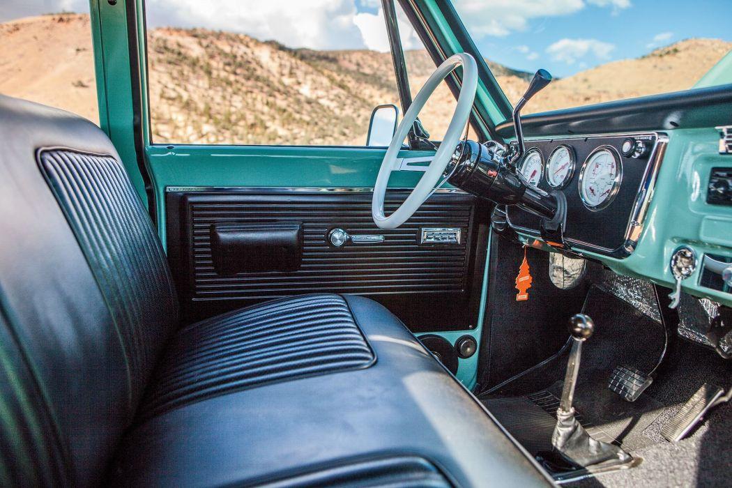 1971 CHEVROLET SUBURBAN offroad 4x4 custom truck suv wallpaper