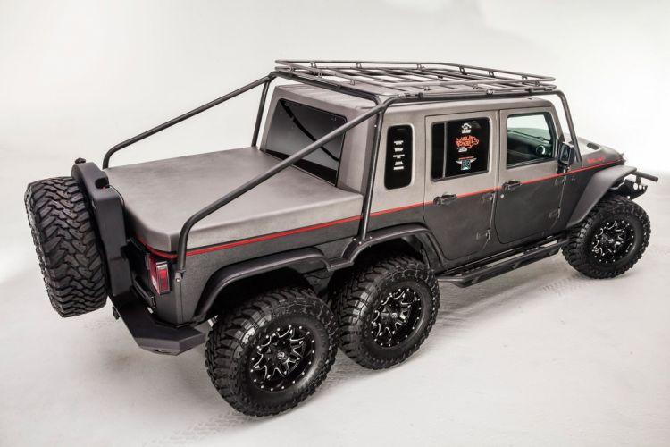 HELLCAT JEEP JK WRANGLER offroad custom truck gog suv mopar 6x6 hell hog wallpaper