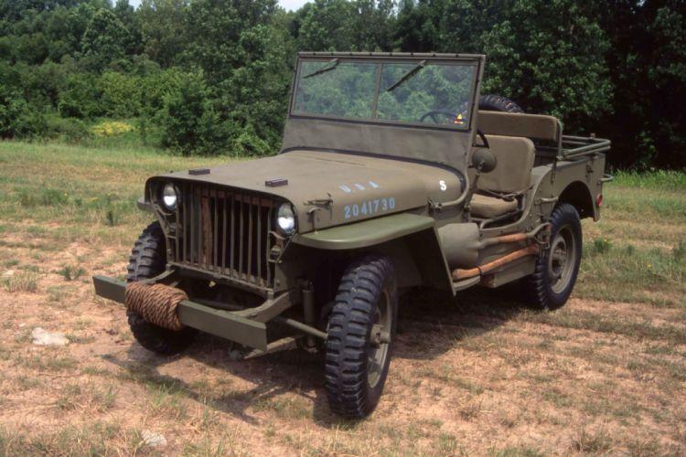 WILLYS JEEP offroad 4x4 custom truck suv military retro wallpaper