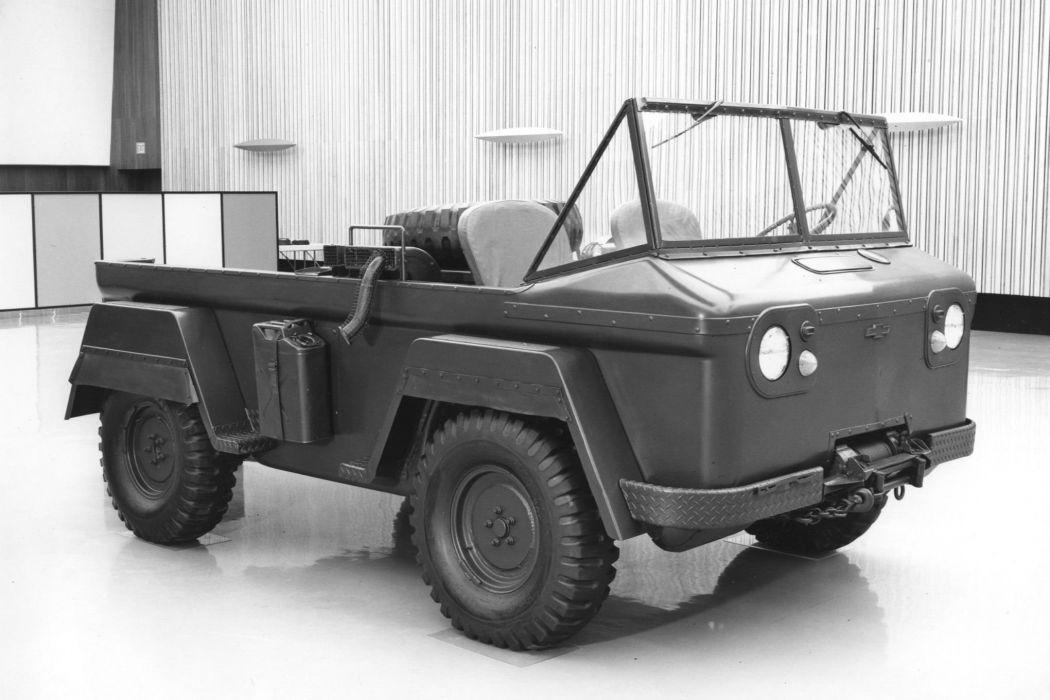 1963 Chevrolet TUFI offroad 4x4 custom truck amphibious military boat chevrolet corvair classic wallpaper