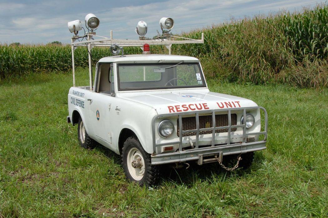 1963 INTERNATIONAL SCOUT offroad 4x4 custom truck classic pickup suv wallpaper