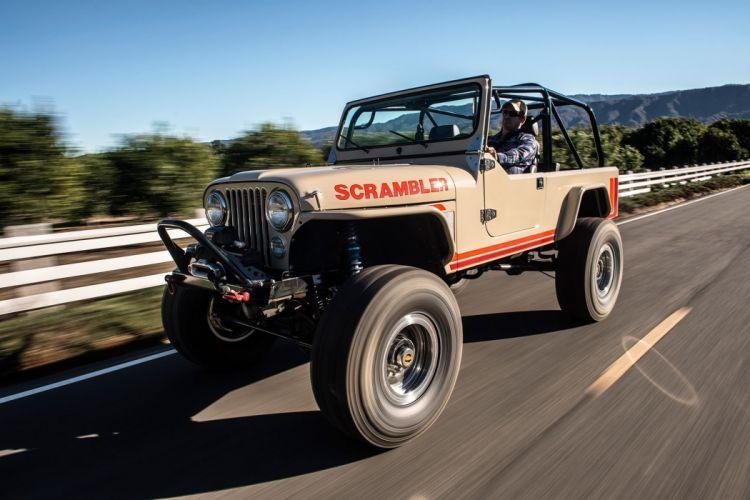Jeep Scrambler CJ-8 offroad 4x4 custom truck suv wallpaper