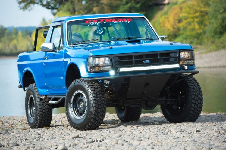 1983 FORD BRONCO PRE-RUNNER offroad 4x4 custom truck pickup wallpaper