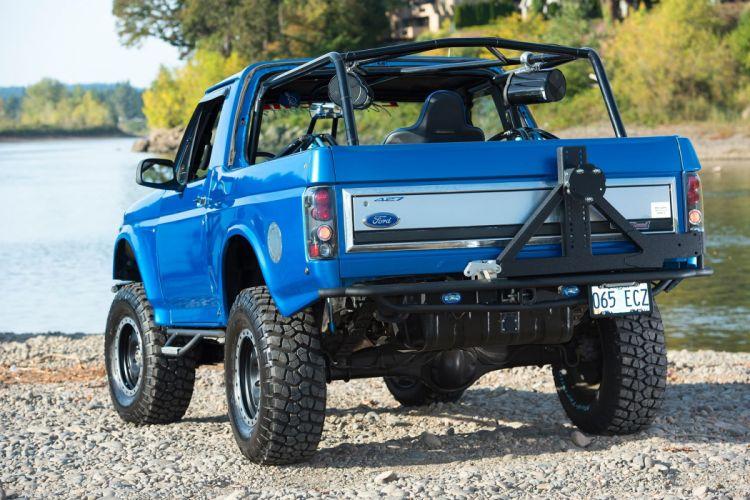 1983 FORD BRONCO PRE-RUNNER offroad 4x4 custom truck pickup wallpaper