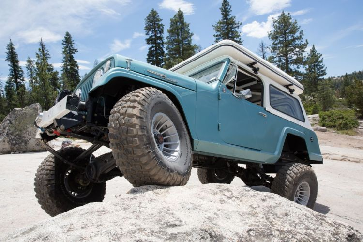 1970 Jeep Jeepster Commando offroad 4x4 custom truck wallpaper