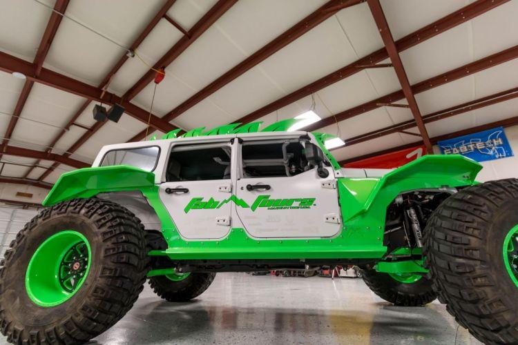 Jeep Wrangler Jk Fab Fours offroad 4x4 custom truck superhero fabulous concept wallpaper