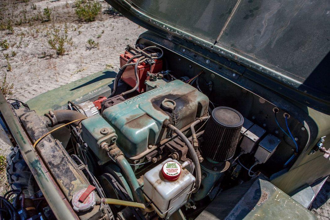 1953 Jeep CJ3B offroad 4x4 custom truck suv retro wallpaper