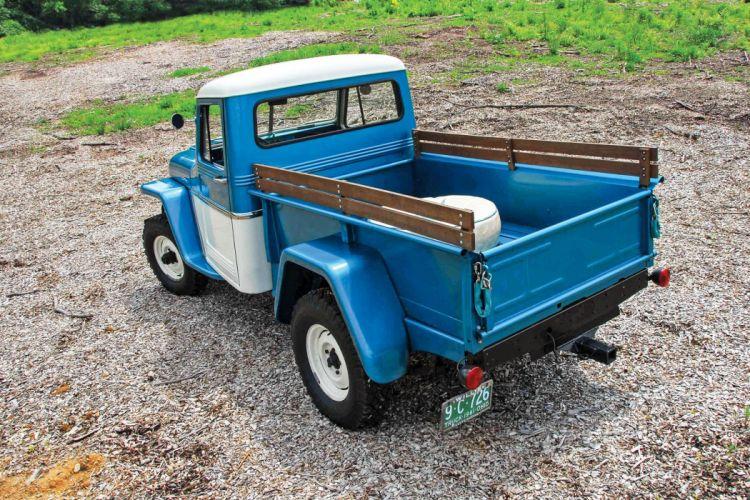 1961 JEEP UTILITY PICKUP offroad 4x4 custom truck classic wallpaper