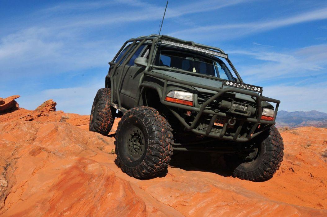 2001 Dodge Durango offroad 4x4 custom truck pickup mopar wallpaper | 2040x1355 | 989864 ...