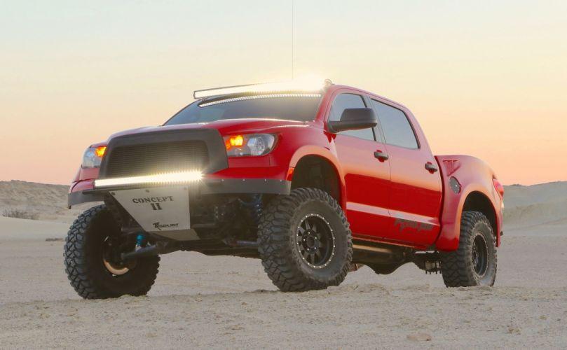 2007 Toyota Tundra SR5 Crewmax offroad 4x4 custom truck pickup wallpaper