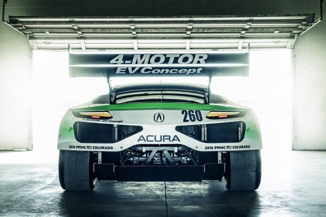 2016 Acura NSX EV Concept cars 2016 wallpaper