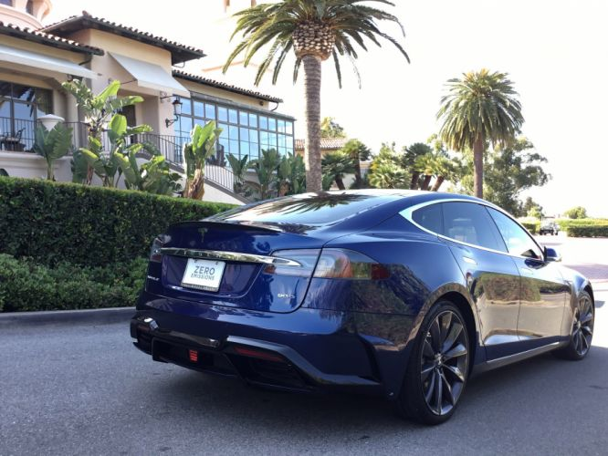 2016 Larte Design Elizabeta Tesla model S cars modified wallpaper