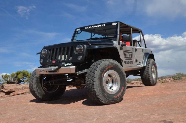 2009 Jeep JKU offroad 4x4 custom truck suv wallpaper