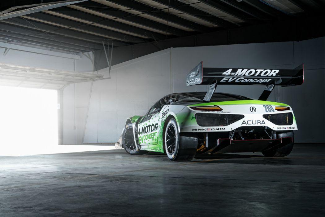 2016 Acura NSX EV Concept race racing rally pikes peak e-v supercar wallpaper
