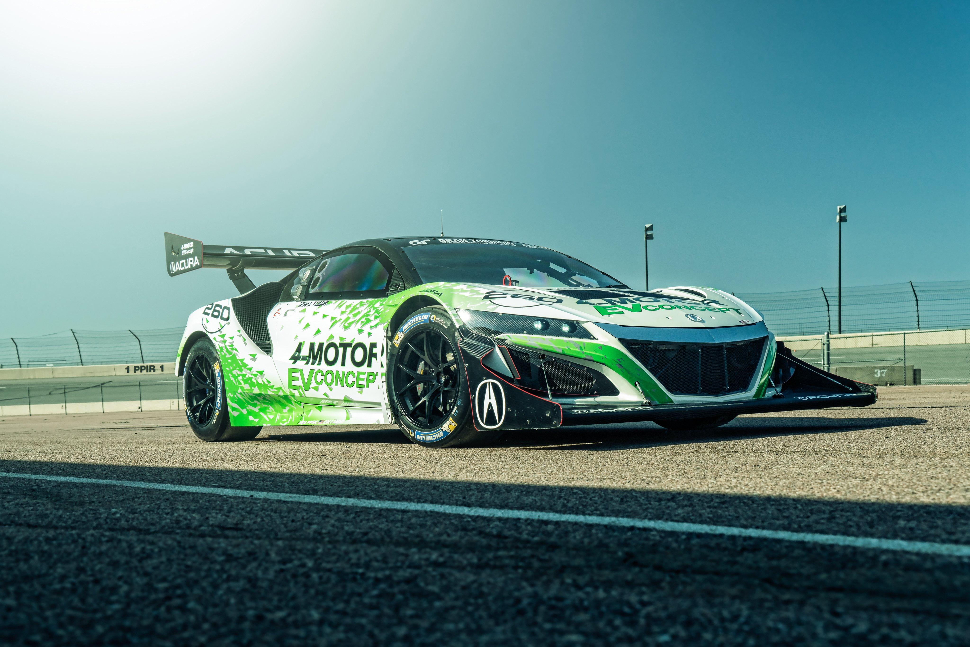 2016 Acura NSX EV Concept race racing rally pikes peak ev supercar