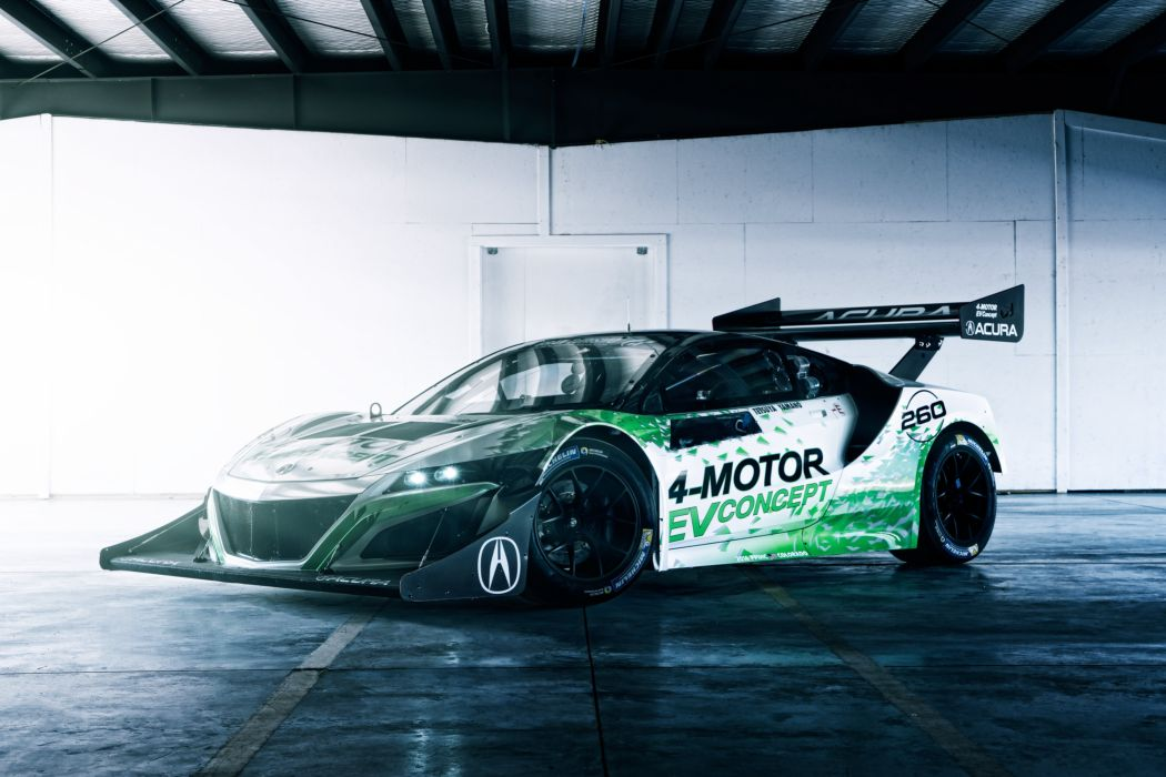 2016 Acura NSX EV Concept race racing rally pikes peak e-v supercar wallpaper