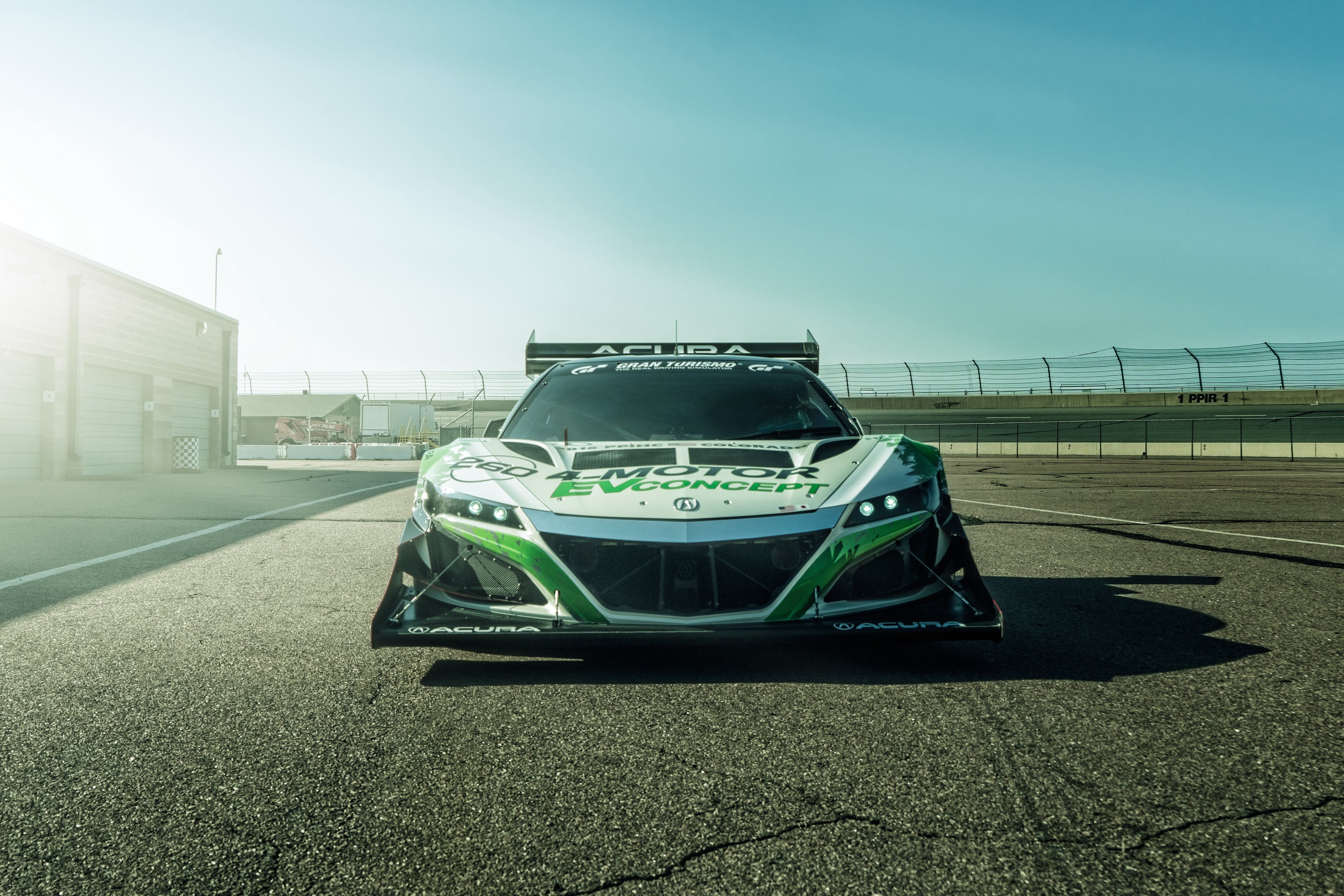2016 Acura NSX EV Concept race racing rally pikes peak ev supercar