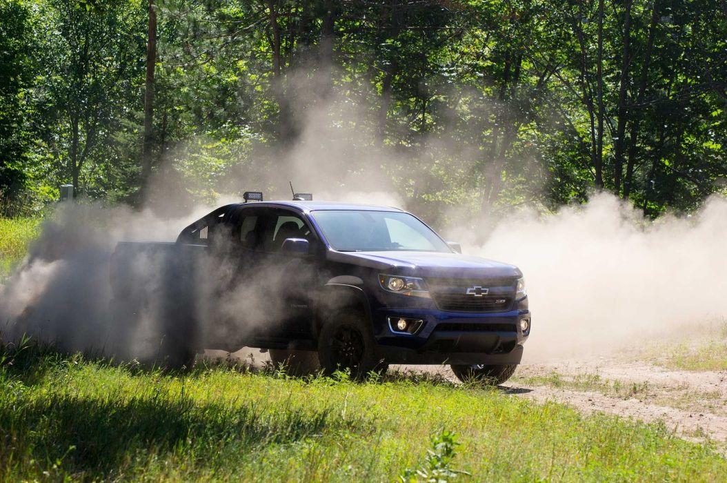 2016 Chevrolet Colorado Z71 Trail Boss offroad 4x4 custom truck pickup wallpaper