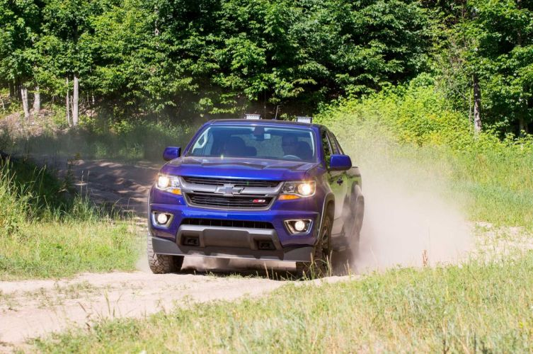 2016 Chevrolet Colorado Z71 Trail Boss offroad 4x4 custom truck pickup wallpaper