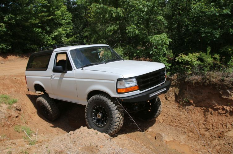 1995 FORD BRONCO offroad 4x4 custom truck suv wallpaper