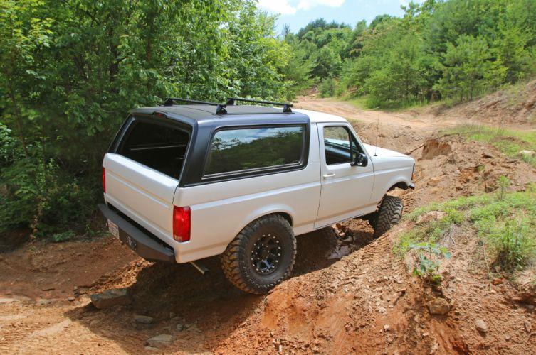 1995 FORD BRONCO offroad 4x4 custom truck suv wallpaper