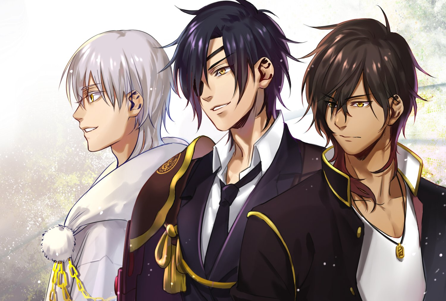 Date Gumi Touken Ranbu Game Anime Series Characters Boys