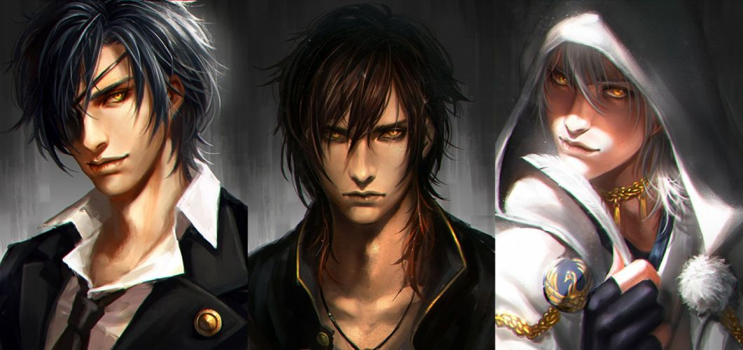 Date-gumi Touken Ranbu Game anime series characters boys male cool wallpaper