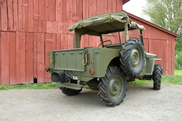 1944 Jeep CJ206 offroad 4x4 custom truck military retro suv wallpaper