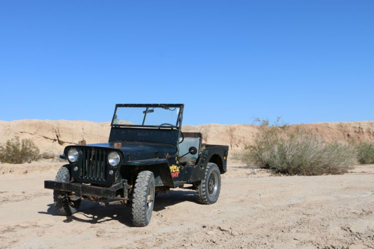 1946 Willys Cj2A offroad 4x4 custom truck jeep suv retro wallpaper